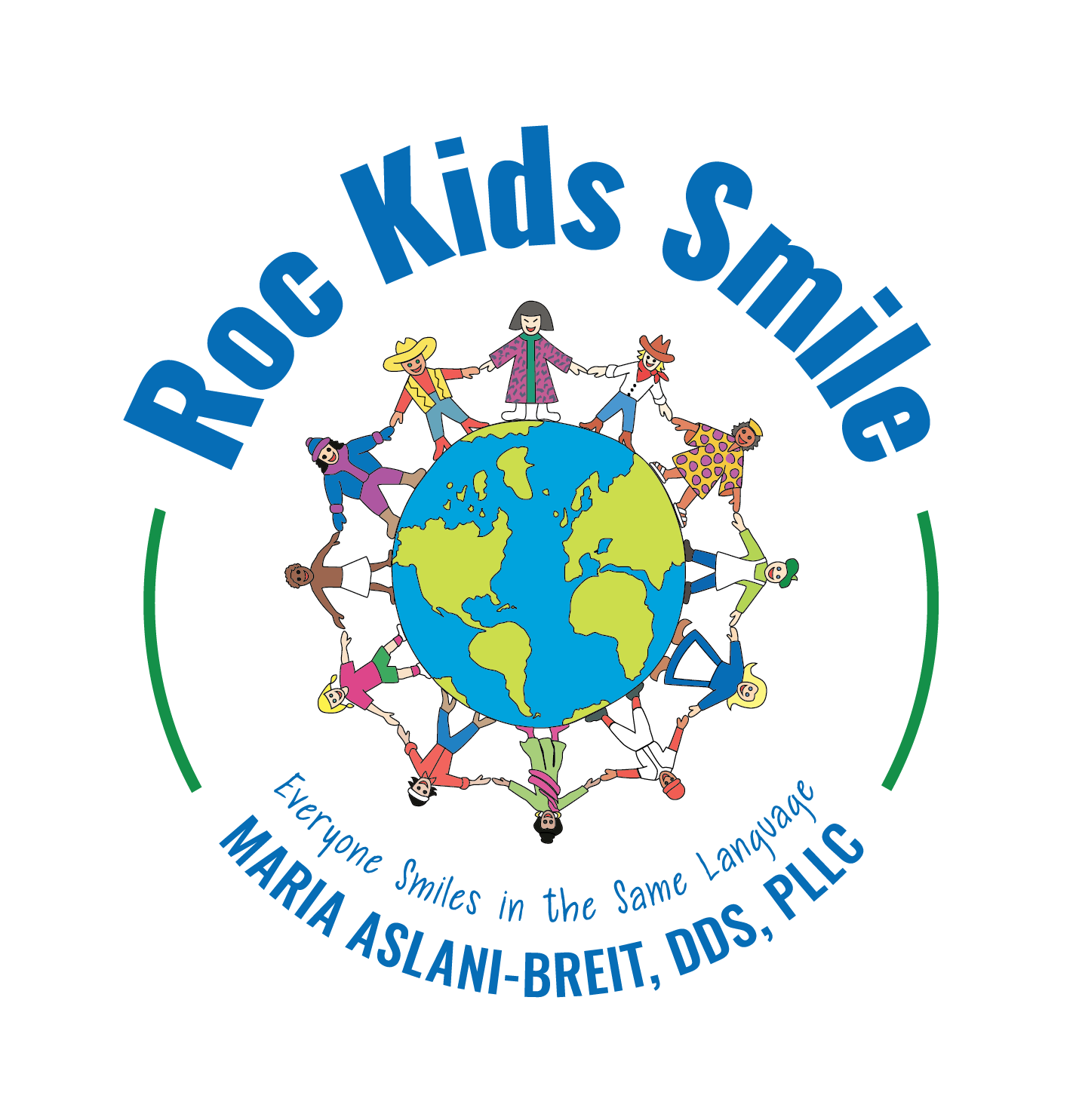 Roc Kids Smile Logo